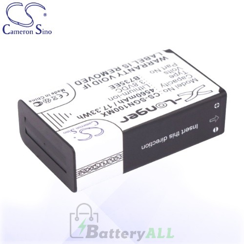 CS Battery for Samsung EK-GN120ZKAXAR / EK-GN120ZKZXAR Battery 4560mah CA-SGN100MX