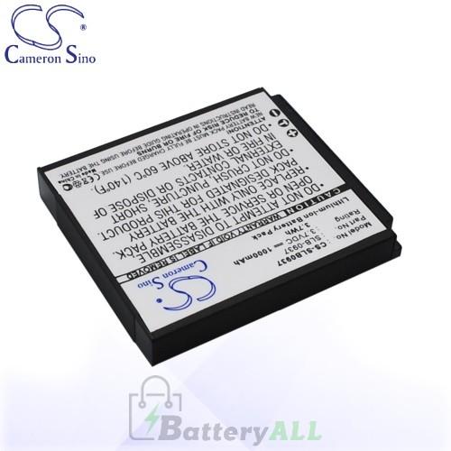 CS Battery for Samsung L830 / NV33 / NV4 / PL10 Battery 1000mah CA-SLB0937