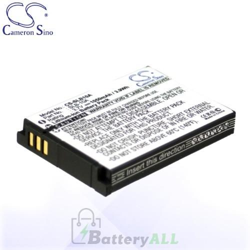 CS Battery for Samsung SLB-10A / Samsung ES50 / ES55 Battery 1050mah CA-SLB10A