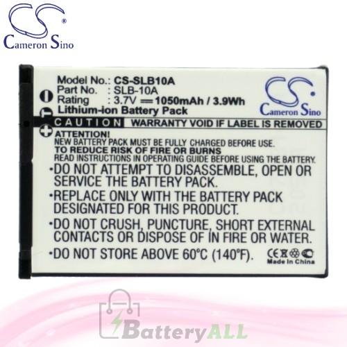 CS Battery for Samsung WB152F / WB200F / WB201F / WB750 Battery 1050mah CA-SLB10A
