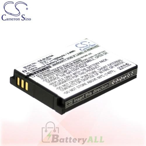 CS Battery for Samsung WB280F / WB500 / WB550 / WB800 Battery 1050mah CA-SLB10A