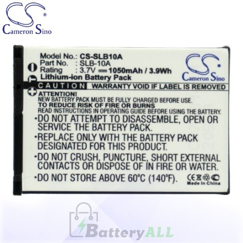 CS Battery for Samsung P1000 / P800 / PL50 / PL51 / PL55 Battery 1050mah CA-SLB10A