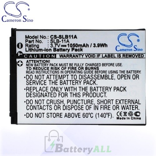 CS Battery for Samsung SLB-11A / EA-SLB11A / SLB11A Battery 1050mah CA-SLB11A