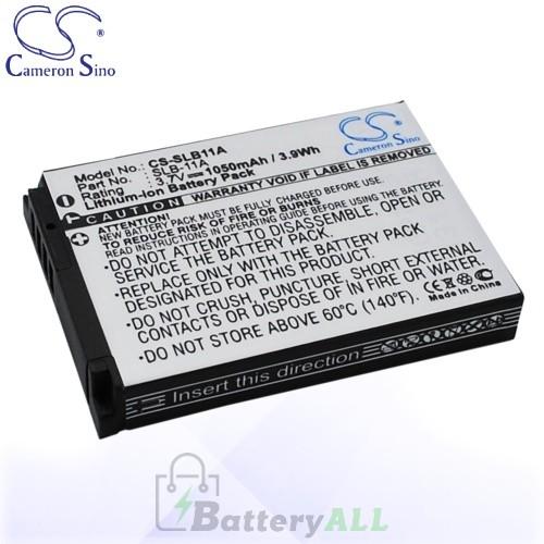 CS Battery for Samsung EX1 / ST1000 / ST5000 / TL240 / HZ25W Battery 1050mah CA-SLB11A