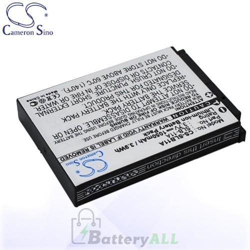CS Battery for Samsung HZ15 / HZ15W / HZ30 / ST1000 / WB650 Battery 1050mah CA-SLB11A