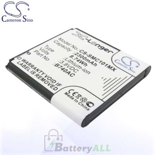CS Battery for Samsung B740AE / B740AC / EB-K740AEWEG Battery 2300mah CA-SMC101MX