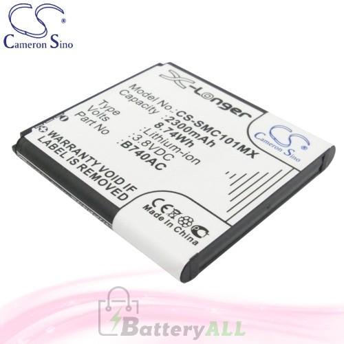 CS Battery for Samsung SM-C105K / SM-C105L / SM-C105S Battery 2300mah CA-SMC101MX