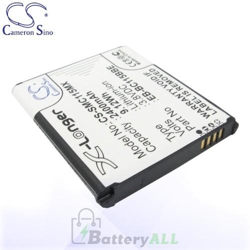 CS Battery for Samsung Galaxy K zoom / zoom 3G Battery 2400mah CA-SMC115MX