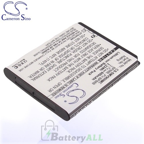 CS Battery for Samsung EC-MV900FBPWUS / MV900 / MV900F Battery 600mah CA-SMV900MC