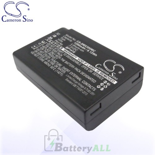 CS Battery for Samsung BP1410 / ED-BP1410 Battery 1200mah CA-SMX300MC