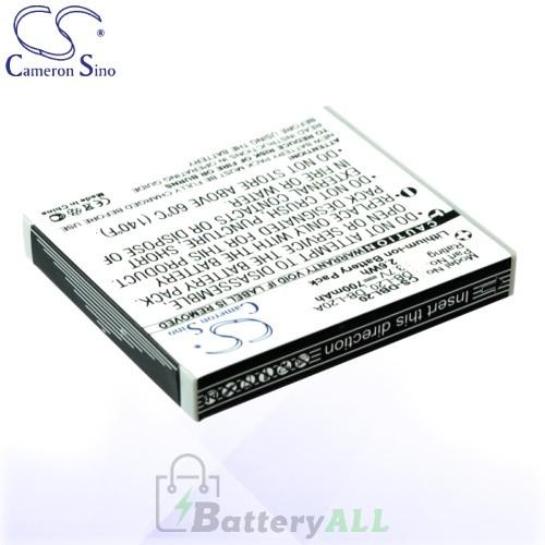 CS Battery for Sanyo Xacti DMX-C5(W) / DMX-C6(K) / DMX-C6 Battery 700mah CA-DBL20