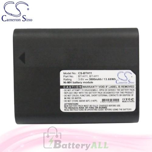 CS Battery for Sharp VL-AH160U / VL-AH161U / VL-AH50 Battery 3800mah CA-BTH11