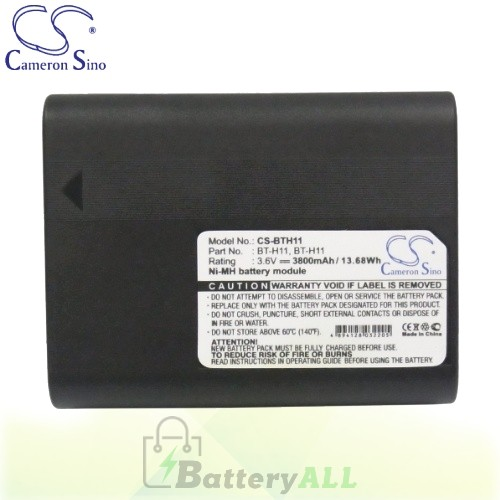 CS Battery for Sharp VL-E66 / VL-E66H / VL-E66S / VL-E66U Battery 3800mah CA-BTH11