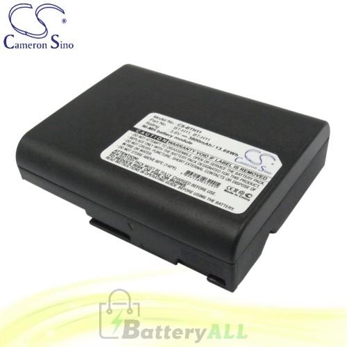 CS Battery for Sharp VL-E660 / VL-E660S / VL-E660U / VL-E665U Battery 3800mah CA-BTH11
