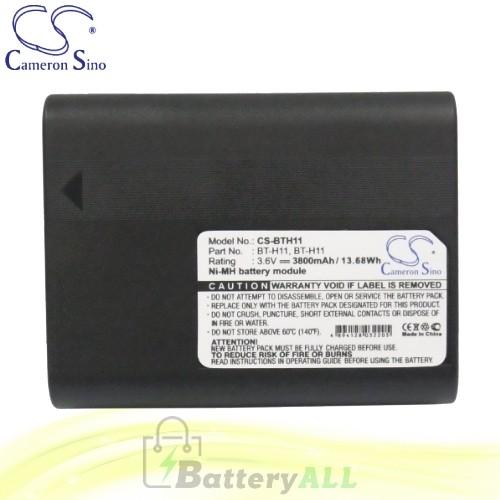 CS Battery for Sharp VL-E760U / VL-E765U / VL-E770H / VL-E96E Battery 3800mah CA-BTH11