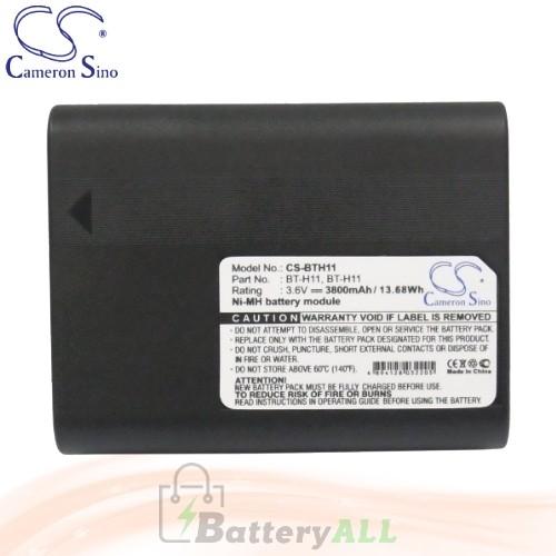 CS Battery for Sharp VL-H800U / VL-H850 / VL-H850S / VL-H850U Battery 3800mah CA-BTH11