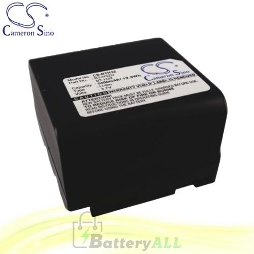 CS Battery for Sharp VL-E66 / VL-E66H / VL-E66S / VL-E66U Battery 5400mah CA-BTH32