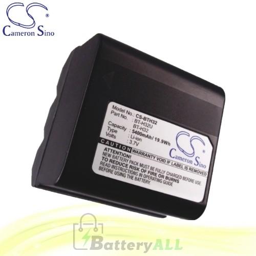 CS Battery for Sharp VL-E685U / VL-E720H / VL-E720U / VL-E760 Battery 5400mah CA-BTH32