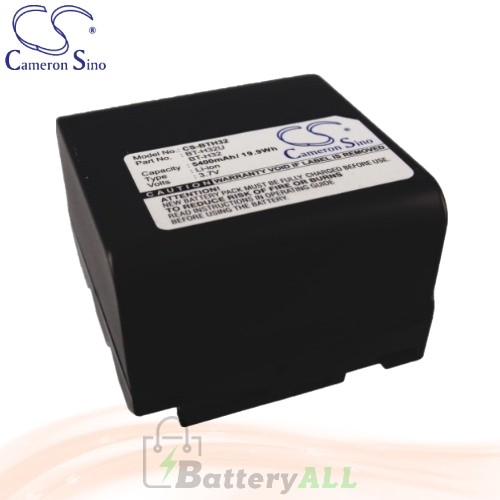 CS Battery for Sharp VL-E760U / VL-E765U / VL-E770H / VL-E96E Battery 5400mah CA-BTH32