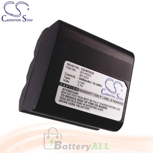 CS Battery for Sharp VL-H420 / VL-H770 / VL-H770S / VL-L133 Battery 5400mah CA-BTH32