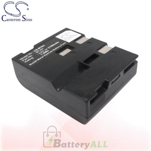 CS Battery for Sharp VL-E700U / VL-H800U / VL-L133 / VL-N8E Battery 2100mah CA-BTN1