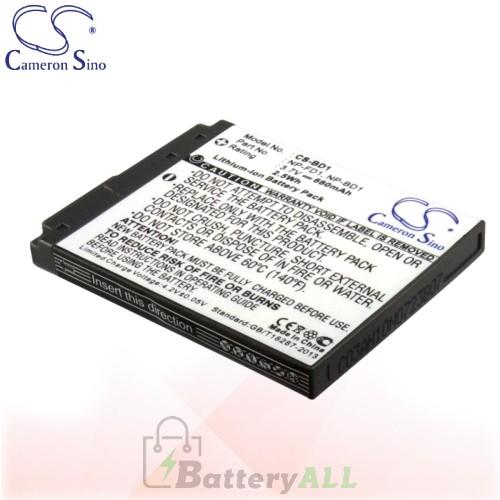 CS Battery for Sony Cyber-shot DSC-T200/R / DSC-T200/S Battery 680mah CA-BD1