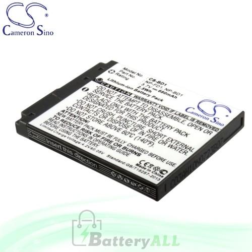 CS Battery for Sony Cyber-shot DSC-T900/B / DSC-T900/R / DSC-TX1 Battery 680mah CA-BD1