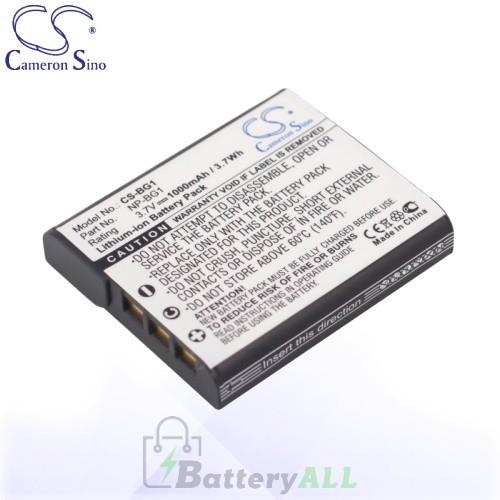 CS Battery for Sony Cyber-Shot NP-BG1 / NP-FG1 Battery 1000mah CA-BG1