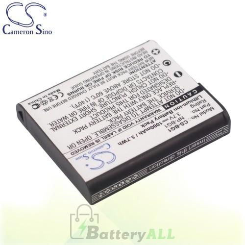 CS Battery for Sony Cyber-Shot DSC-W50 / DSC-W50B / DSC-W50S Battery 1000mah CA-BG1