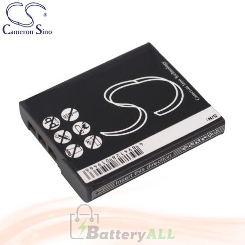 CS Battery for Sony Cyber-Shot DSC-W120/P / DSC-W125 / DSC-W130 Battery 1000mah CA-BG1