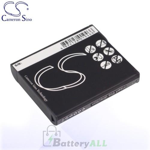 CS Battery for Sony Cyber-Shot DSC-H9 / DSC-H9/B / DSC-H9B Battery 1000mah CA-BG1