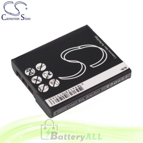 CS Battery for Sony Cyber-Shot DSC-WT300 / DSC-WX1S / DSC-WX10V Battery 1000mah CA-BG1