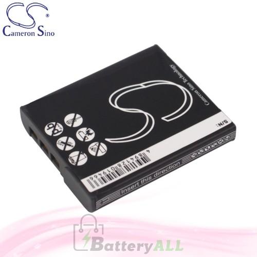 CS Battery for Sony Cyber-Shot DSC-H20/B / DSC-H70R / DSC-H70S Battery 1000mah CA-BG1