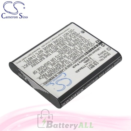 CS Battery for Sony CyberShot DSC-S980/P / Cyber-shot DSC-W190/R Battery 770mah CA-BK1