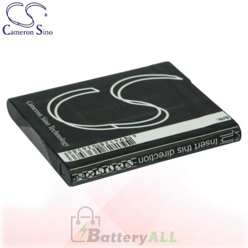 CS Battery for Sony Cyber-shot DSC-TX9H / DSC-TX9R / DSC-TX10 Battery 630mah CA-BN1