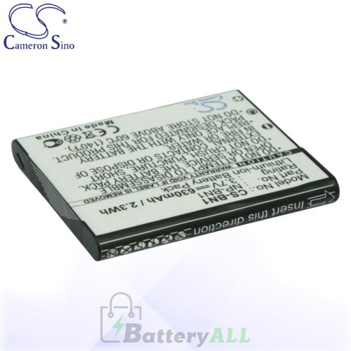 CS Battery for Sony Cyber-shot DSC-J20 / DSC-T110 / DSC-T110B Battery 630mah CA-BN1