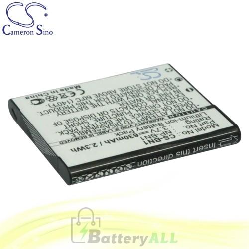 CS Battery for Sony Cyber-shot DSC-W310/P / DSC-W320P / DSC-W350 Battery 630mah CA-BN1