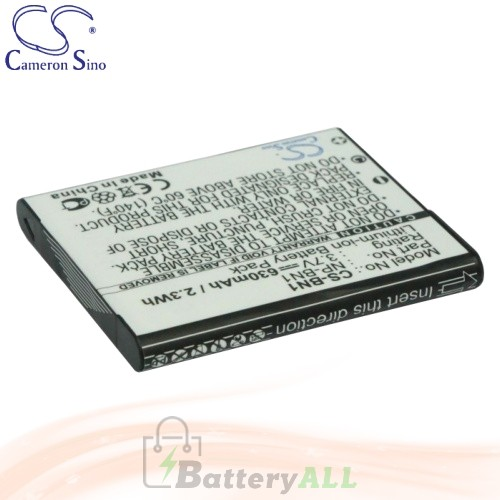 CS Battery for Sony Cyber-shot DSC-W350B / DSC-W350D / DSC-W350L Battery 630mah CA-BN1