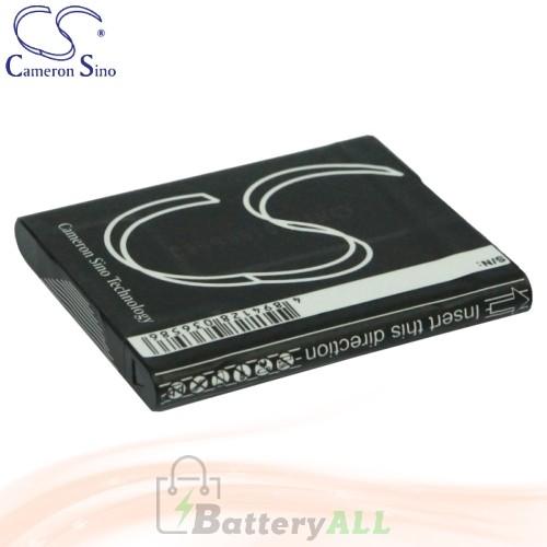 CS Battery for Sony Cyber-shot DSC-W370/G / DSC-W370/R Battery 630mah CA-BN1
