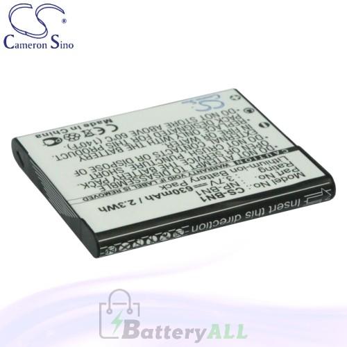 CS Battery for Sony Cyber-shot DSC-W560L / DSC-W570B / DSC-W570V Battery 630mah CA-BN1