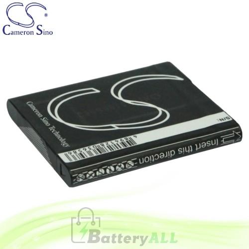 CS Battery for Sony Cyber-shot DSC-W630P / DSC-W630S / DSC-W630V Battery 630mah CA-BN1