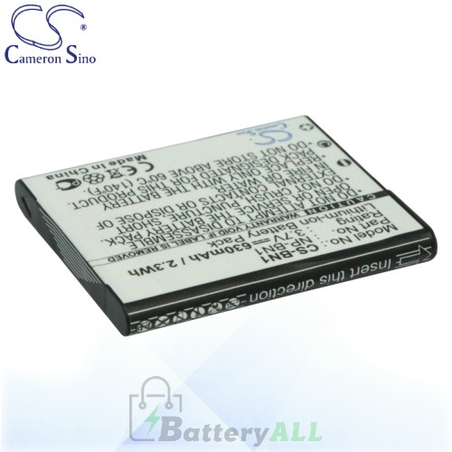 CS Battery for Sony Cyber-shot DSC-W560R / DSC-W690L / DSC-W690R Battery 630mah CA-BN1