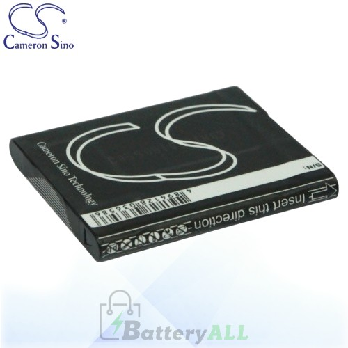 CS Battery for Sony Cyber-shot DSC-WX5S / DSC-WX7 / DSC-WX7B Battery 630mah CA-BN1