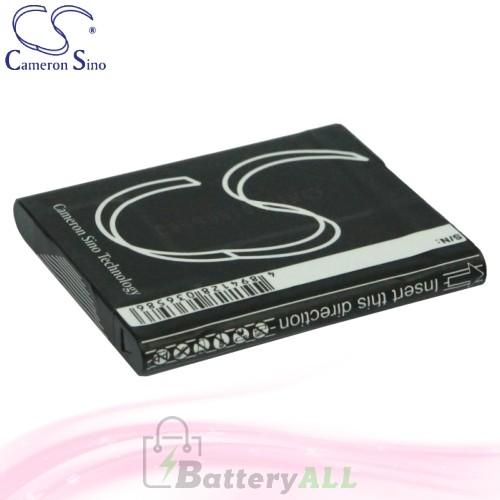 CS Battery for Sony Cyber-shot DSC-TX5 / DSC-TX5B / DSC-TX5P Battery 630mah CA-BN1