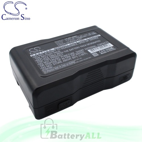 CS Battery for Sony DCR-50 DCR-50P (DVCAM VTR) / HDW-790 Battery 10400mah CA-BPL90MC