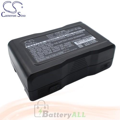 CS Battery for Sony DSR-370L / DSR-390L / DSR-390P Battery 10400mah CA-BPL90MC
