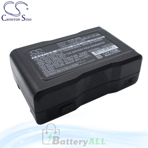 CS Battery for Sony DSR-500WSP / DSR-500WSPL / DSR-570WS Battery 10400mah CA-BPL90MC