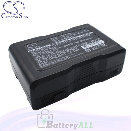 CS Battery for Sony DVW-250 (Videocassette Recorder) Battery 10400mah CA-BPL90MC