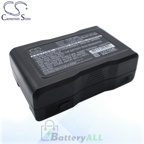 CS Battery for Sony HDW-750CE / HDW-750P / HDW-790WSP Battery 10400mah CA-BPL90MC