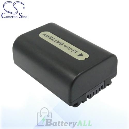 CS Battery for Sony CR-SR100E / DCR-SR190E / DCR-SR200 Battery 650mah CA-FH50D